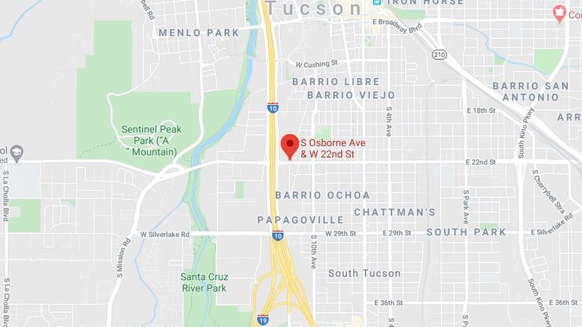The shooting incident happened Thursday night, April 24, near Osborne Avenue and 22nd Street....