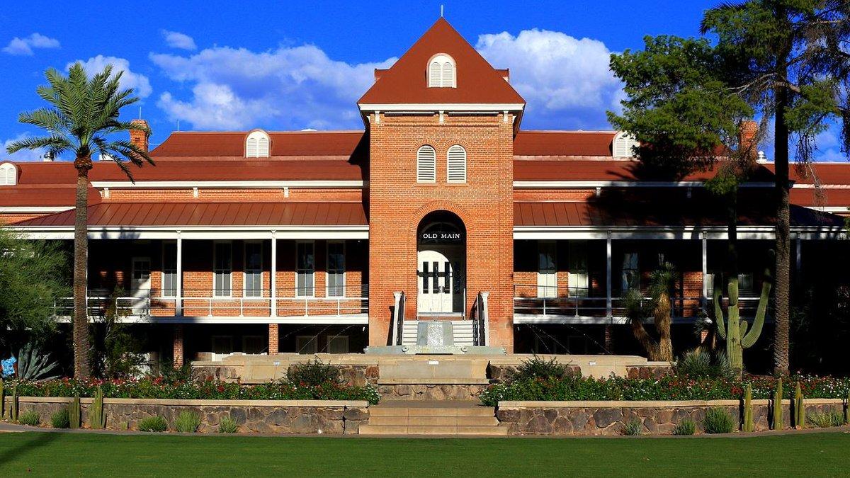 University of Arizona 'Old Main' (Source: Bill Morrow)