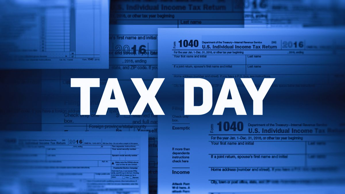 Generic Tax Day Graphic