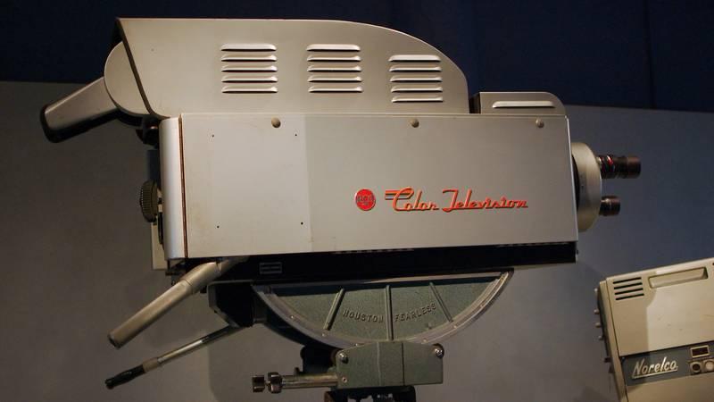 RCA Color Broadcast Camera TK-41C 1954 television camera