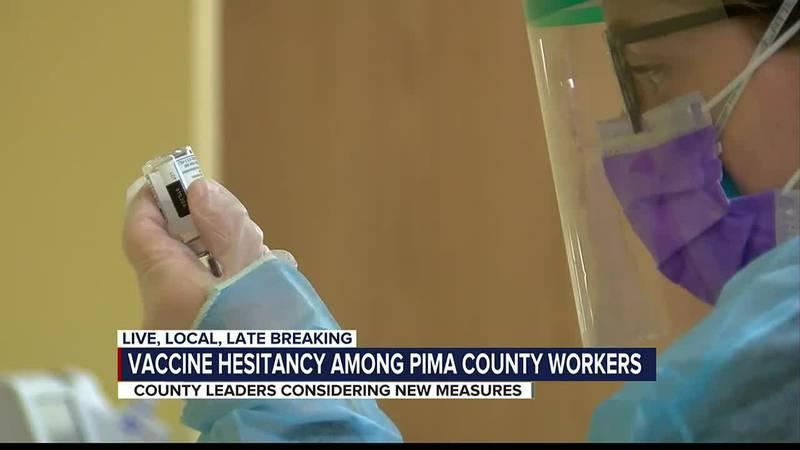 Vaccine hesitancy among Pima County workers