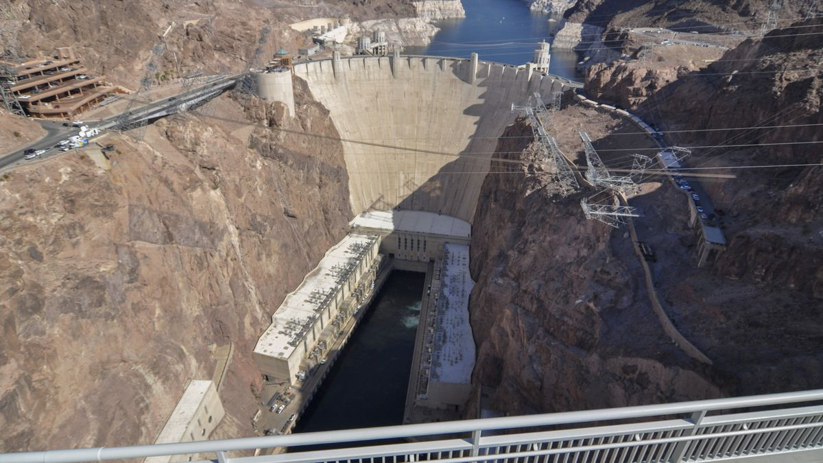 The U.S. Bureau of Reclamation projects Lake Mead could drop to levels that could threaten the...