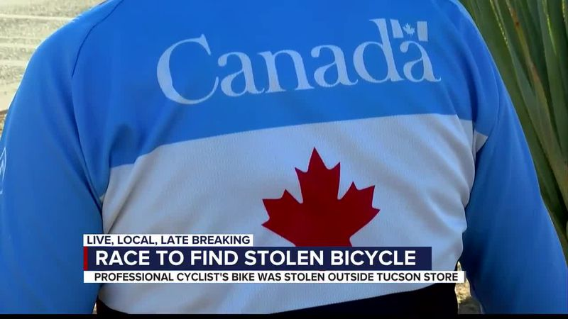 Team Canada Cyclist asks for Help Recover Stolen Bike