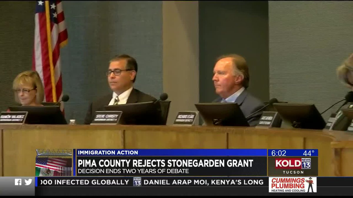The Pima County Board of Supervisors on Tuesday, July 6, voted to rescind a March 2020...