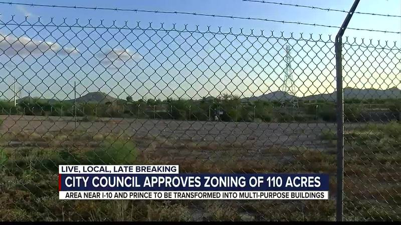 Right now, the area between Interstate 10 and the Santa Cruz River is dominated by industrial...
