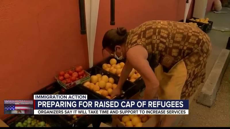 Biden administration raises refugee cap