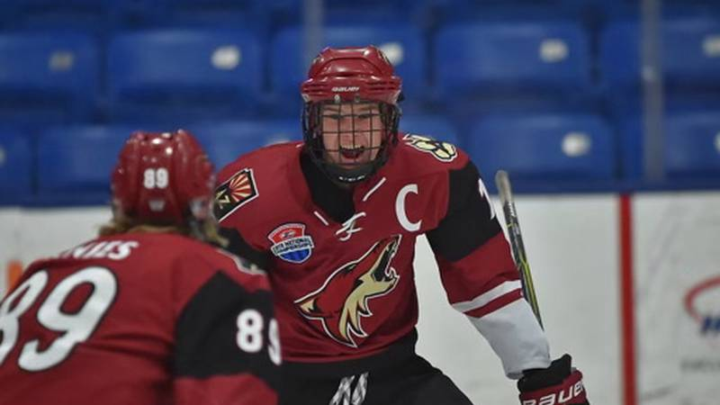 Josh Doan may have grown at a slower rate than his peers, but his fondness for hockey and the...