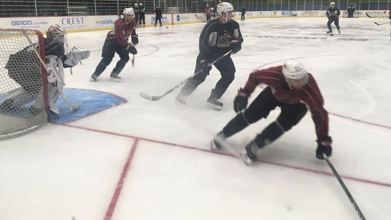 The Roadrunners, shown here at practice on Tuesday, Oct. 1, open their season Friday, Oct. 4,...