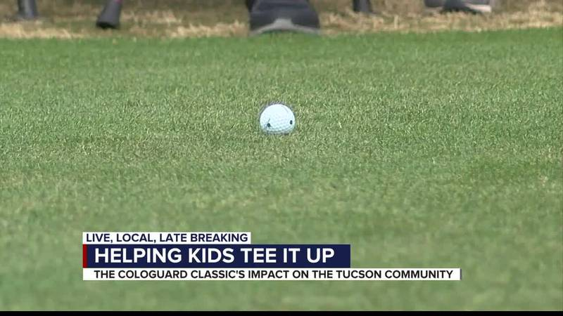 Helping kids tee it up