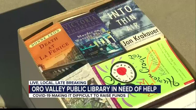 Buy books by the box at Oro Valley Public Library fundraiser