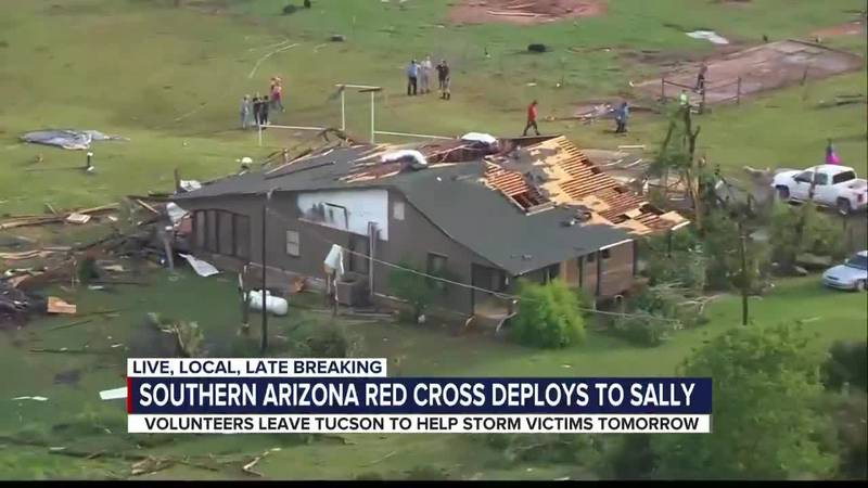 Southern Arizona volunteers talks about leaving to help victims of Hurricane Sally