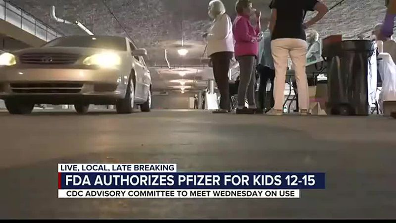 FDA grants emergency use to Pfizer covid-19 vaccine for kids ages 12-15