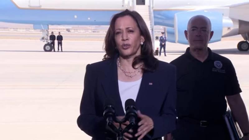 Vice President Kamala Harris visited El Paso. Texas, Friday June 25 to tour the border,