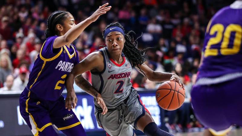 Aari McDonald and Cate Reese both posted double-doubles as No. 24 Arizona  took down Prairie...