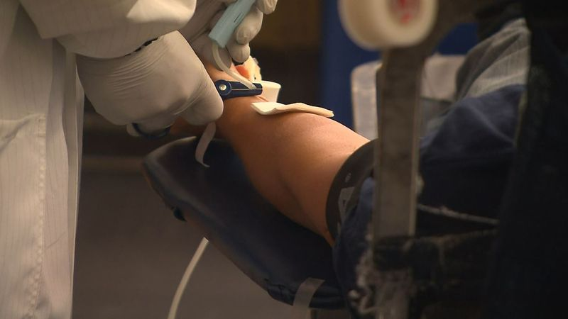"""As demand for blood continues to climb, the Red Cross says the U.S. is facing a """"severe..."""
