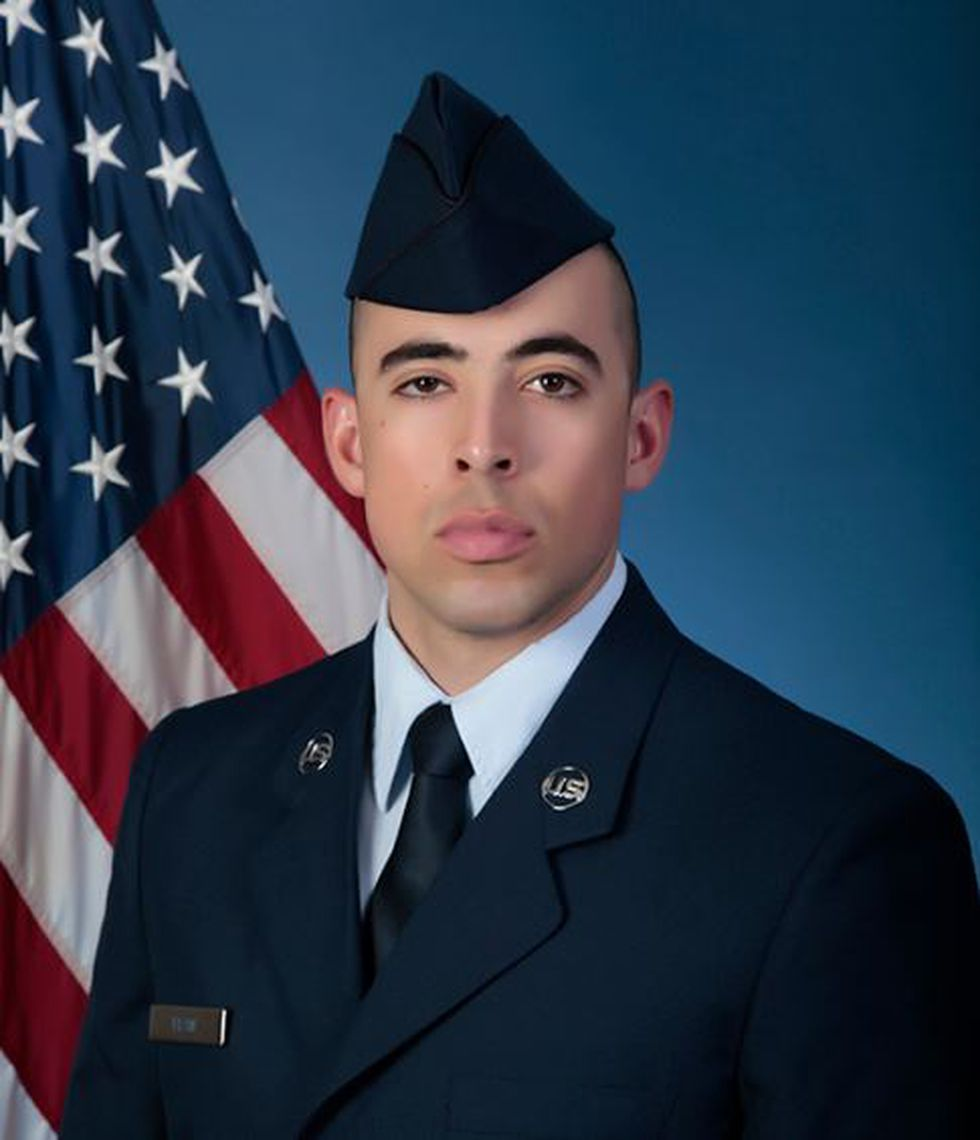 U.S. Air Force Airman Anthony D. Efaw (Source: U.S. Air Force)