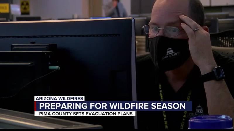 Pima County prepares for wildfires, evacuations