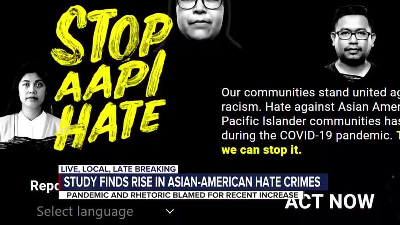 Asian-American hate crimes