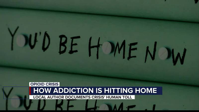Local bestselling author raises awareness about the opioid crisis in new book