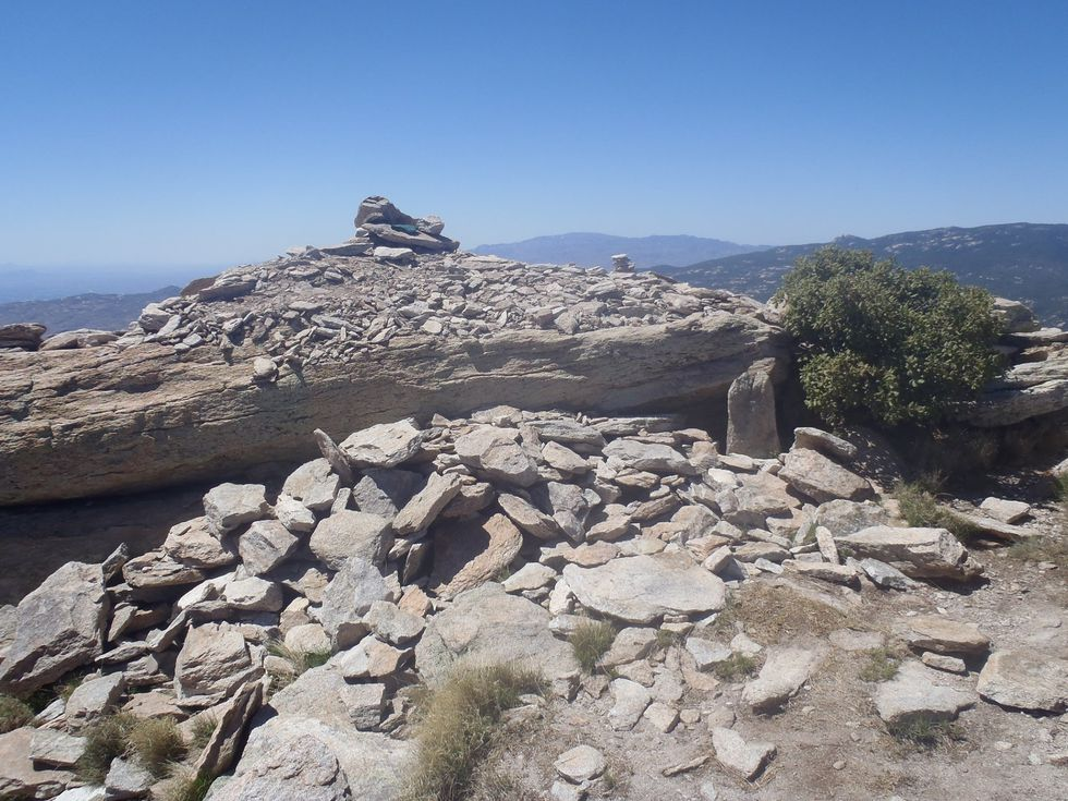 Saguaro National Park needs help to find out who dismantled the historic cairn on Rincon Peak.