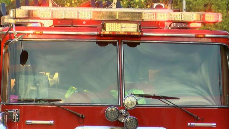Tucson firefighters are at the scene of a building fire on East Ferry Road.