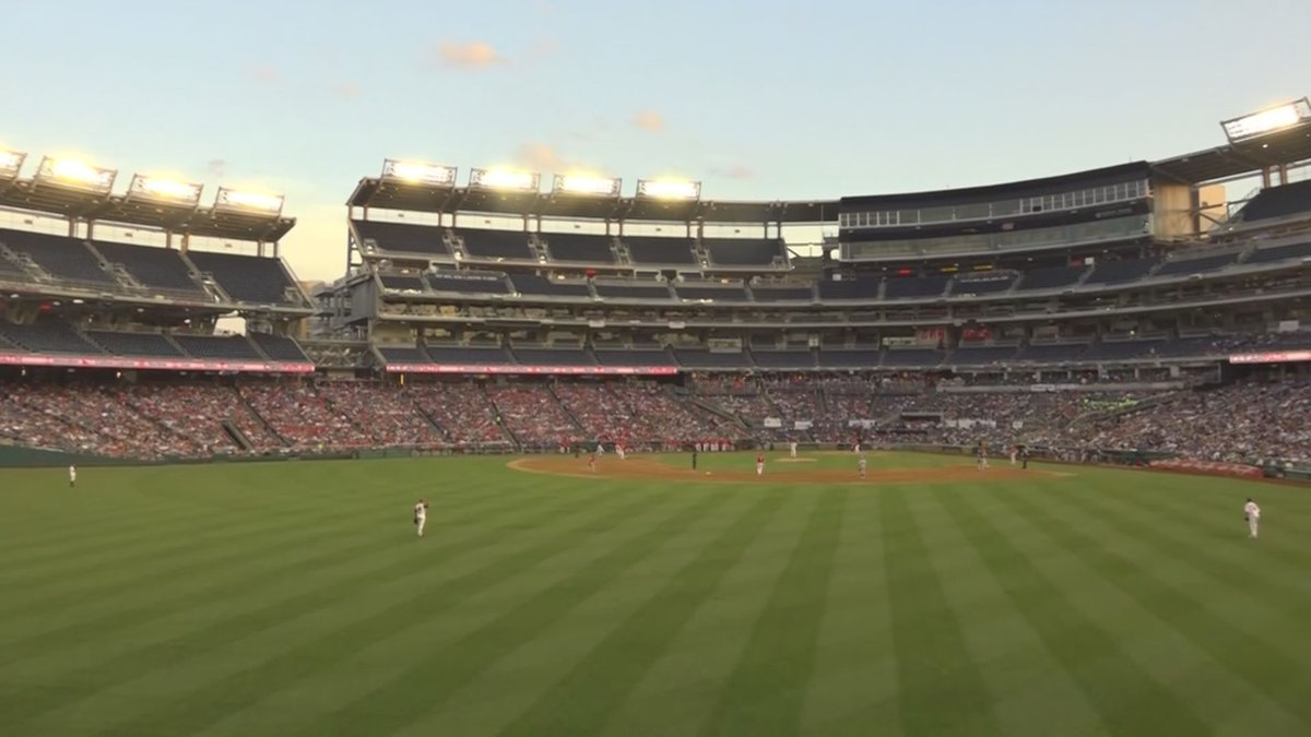 The annual game between Republican and Democratic legislators was played at Nationals Park in...
