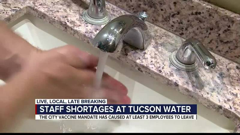 Staff shortages at Tucson Water