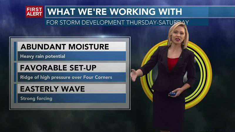 FIRST ALERT FORECAST TUESDAY, JULY 20, 2021