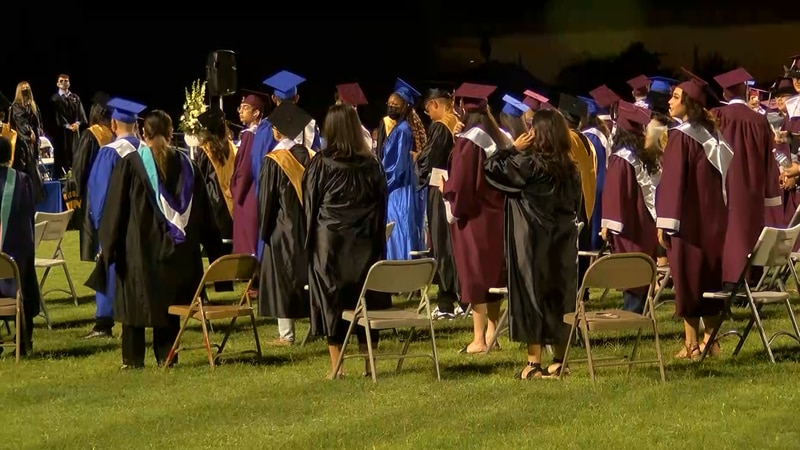 Class of 2020 grads have in-person graduation