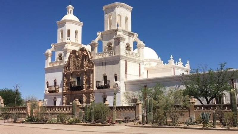 Mission San Xavier del Bac (Source: Tucson News Now)