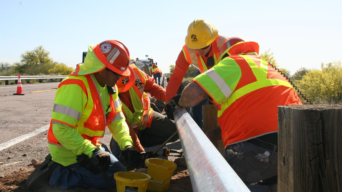 ADOT reminds drivers to look out for highway construction and maintenance crews