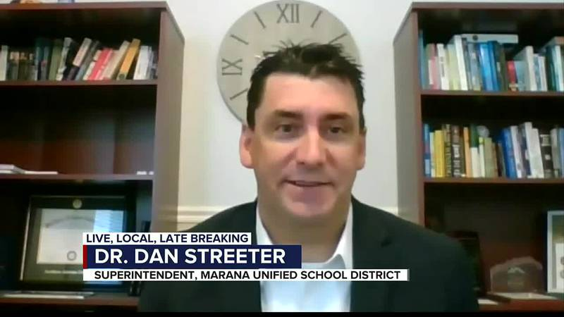 Marana Unified School District superintendent Dr. Dan Streeter