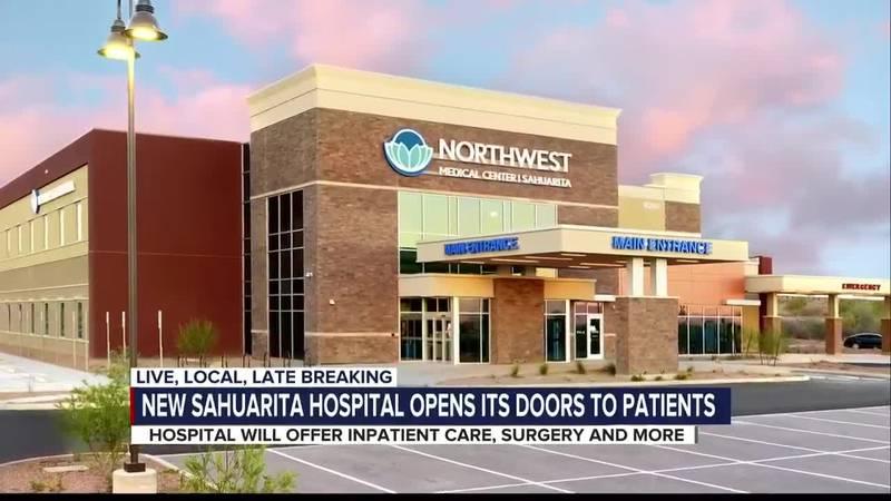 New hospital opens in Sahuarita