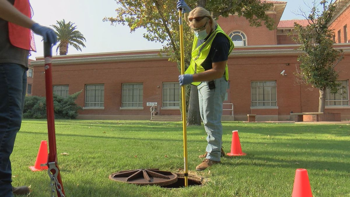 UArizona testing sewage water for COVID-19