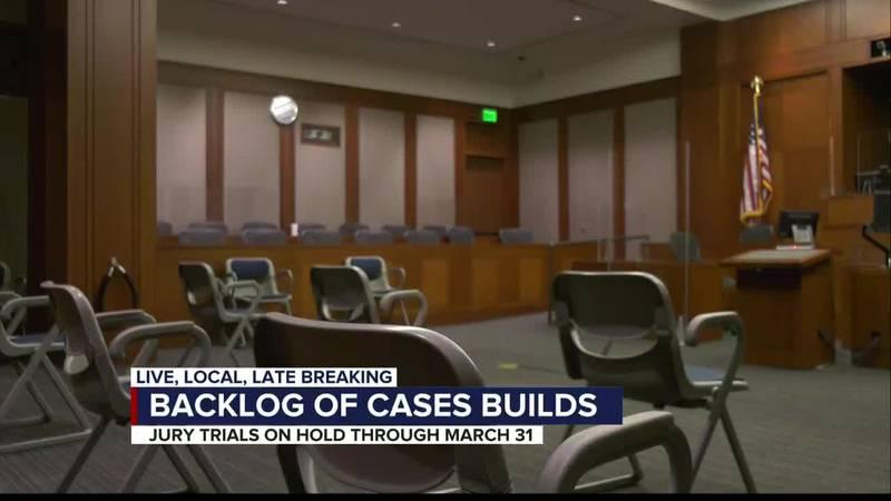 Courthouse backlog