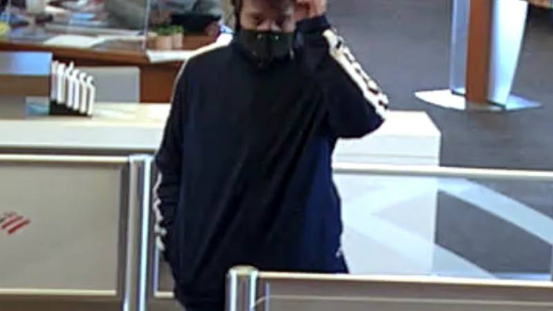 PCSD is searching for this man who allegedly attempted to rob a Bank of America.