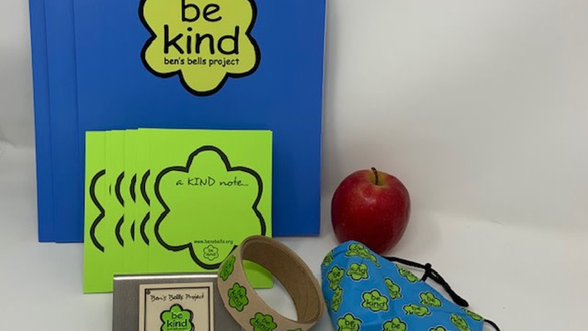Ben's Bells Project teacher kits.