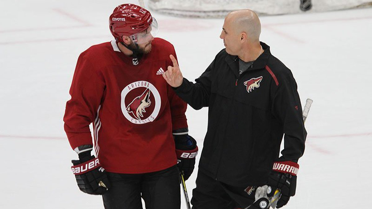 Rick Tocchet finished 125-131-34 in 290 games as coach of the Coyotes.