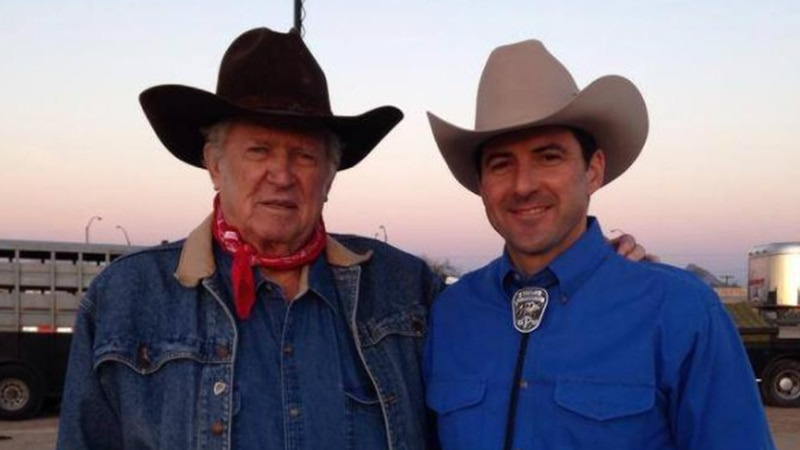 Don Collier, pictured with KOLD News 13 anchor Dan Marries.