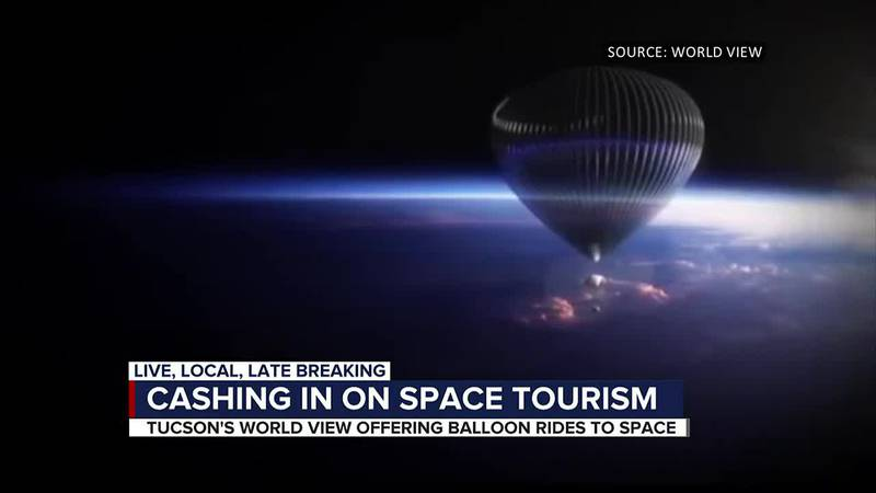 Cashing in on space tourism