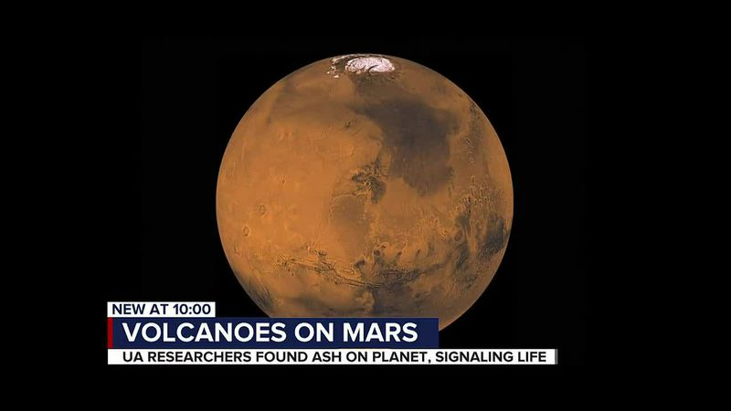 'Mars isn't dead' researchers find potentially active volcanoes, potential for life