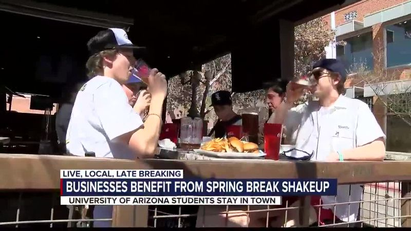 Businesses benefit from spring break shake up