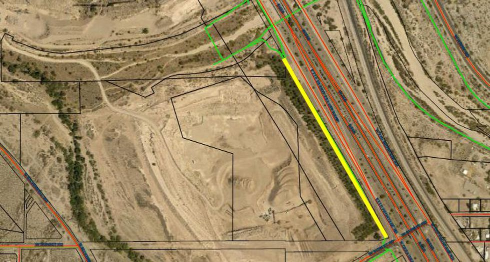 The construction will affect the Santa Cruz portion of The Loop until about Dec. 1.