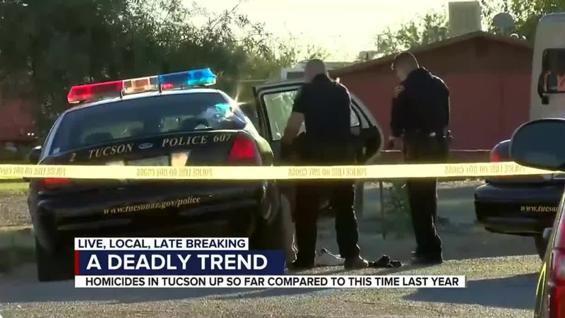 Homicides on the rise