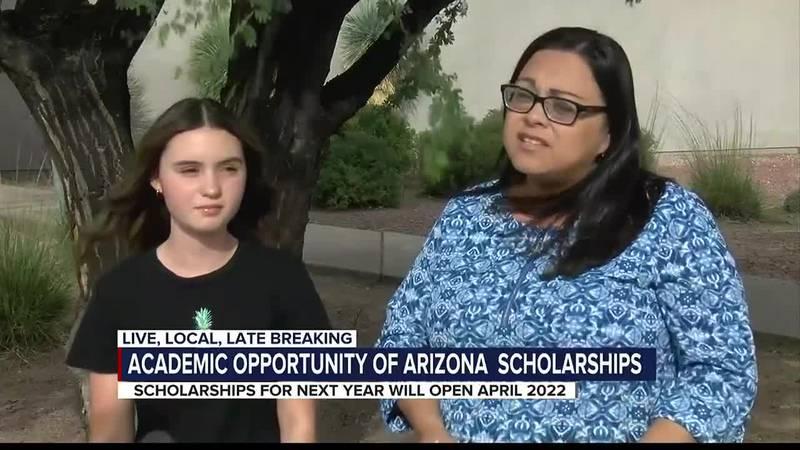 Academic Opportunity of Arizona scholarships