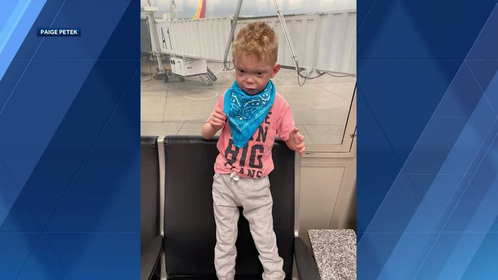 The Petek family says the Southwest Airlines crew refused to let them into their connecting...