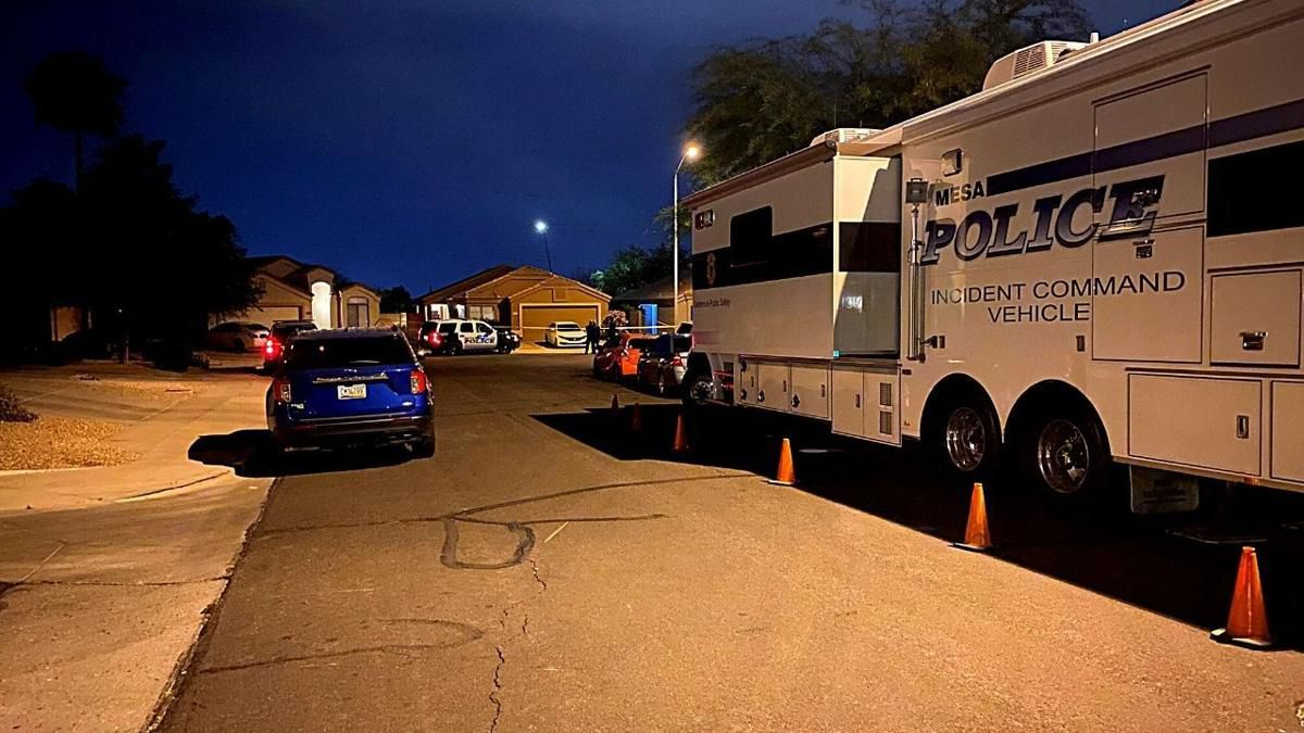 Mesa police investigation overnight near Brown and Ellsworth.