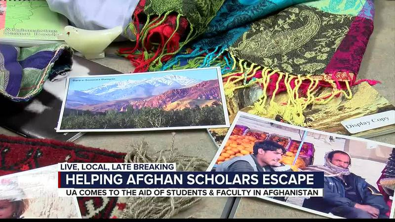 Helping Afghan scholars escape