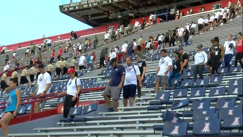 The 9/11 Tower Challenge will be at Tucson Convention Center this year due to the Wildcats'...