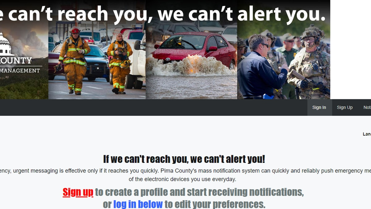 During an emergency, urgent messaging is effective only if it reaches you quickly. Pima...